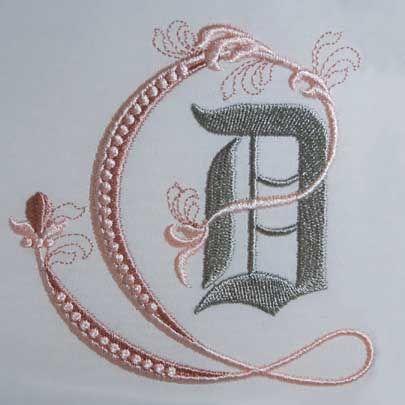 Fleur De Lis Alphabet D