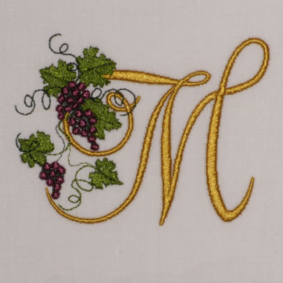Fruit of the Vine Alphabet- M