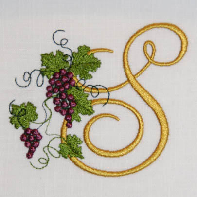 Fruit of the Vine Alphabet- S