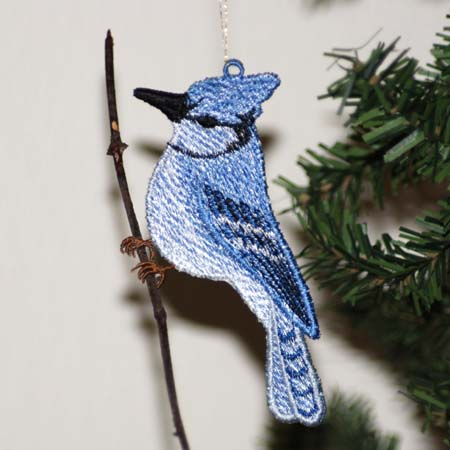 Bluejay ( Free Standing Ornament)