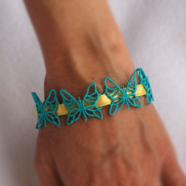 Butterfly Beads 2 (Free Standing Lace)