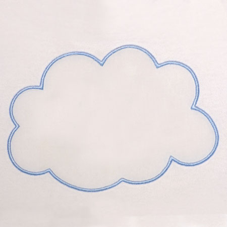 Cloud Applique ( Large)