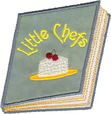 Cook Book (applique)