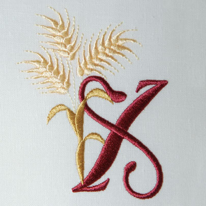 For the Harvest Alphabet- X