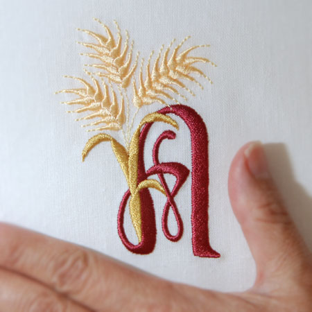 For the Harvest Alphabet- A
