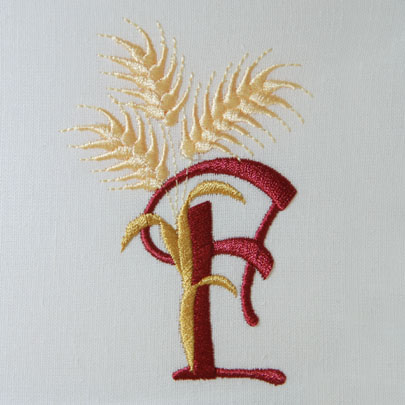 For the Harvest Alphabet- F