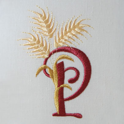 For the Harvest Alphabet- P