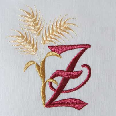 For the Harvest Alphabet- Z