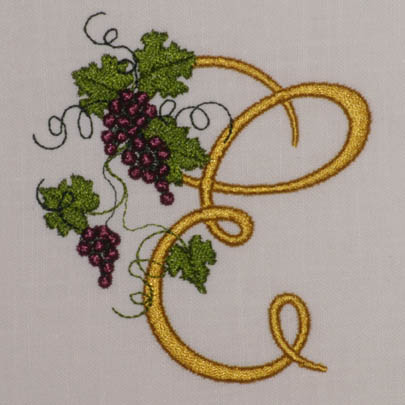 Fruit of the Vine Alphabet- E
