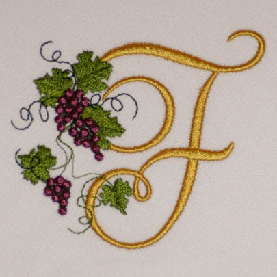 Fruit of the Vine Alphabet- F