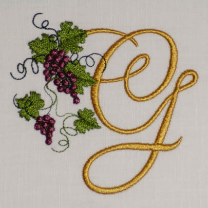 Fruit of the Vine Alphabet- G