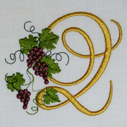 Fruit of the Vine Alphabet- Q