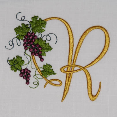 Fruit of the Vine Alphabet- R