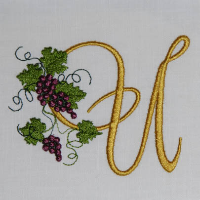 Fruit of the Vine Alphabet- U