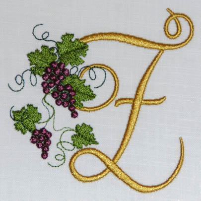 Fruit of the Vine Alphabet- Z