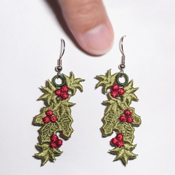 Holly & Ivy Earrings