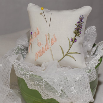 Lavender Scents Pin Cushion