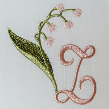 Lily of the Valley Alphabet- Z