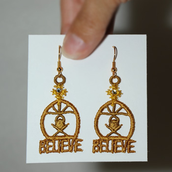 The Manger Earrings