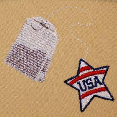 Patriotic Tea Bag
