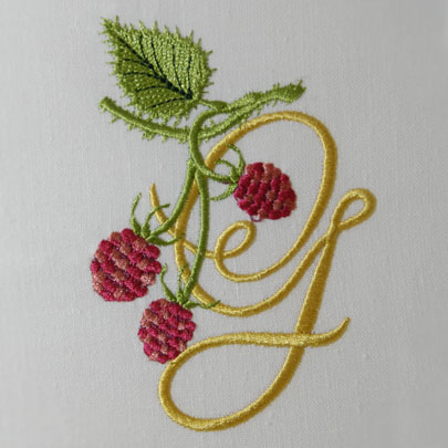 Wild Raspberries Alphabet- G